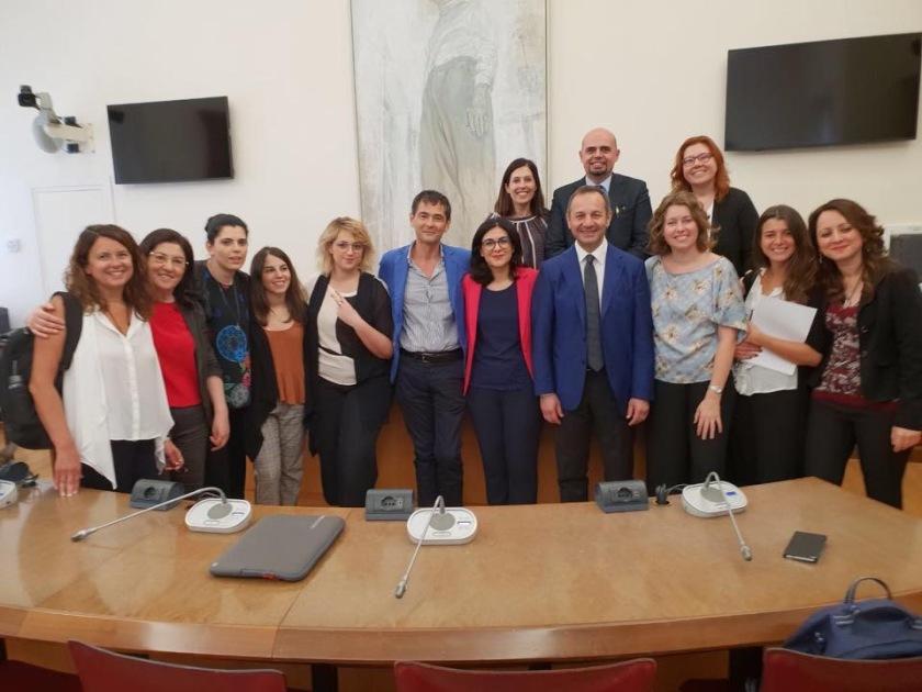 Commissione Affari Sociali XVIII Legislatura.JPG