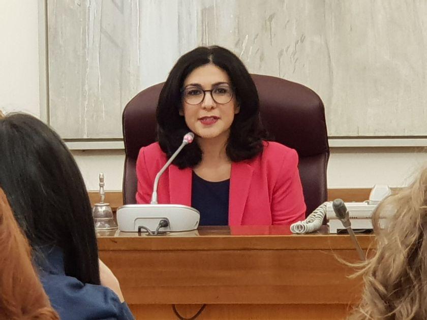 Marialucia Lorefice presidente Commissione Affari Sociali