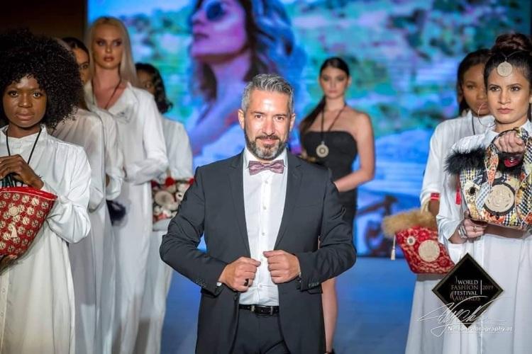 Roberto Caggia al World Fashion Festival Awards